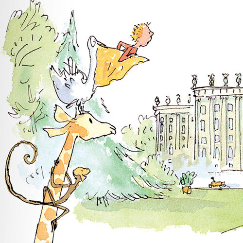Quentin Blake-The Giraffe and the Pelle and me